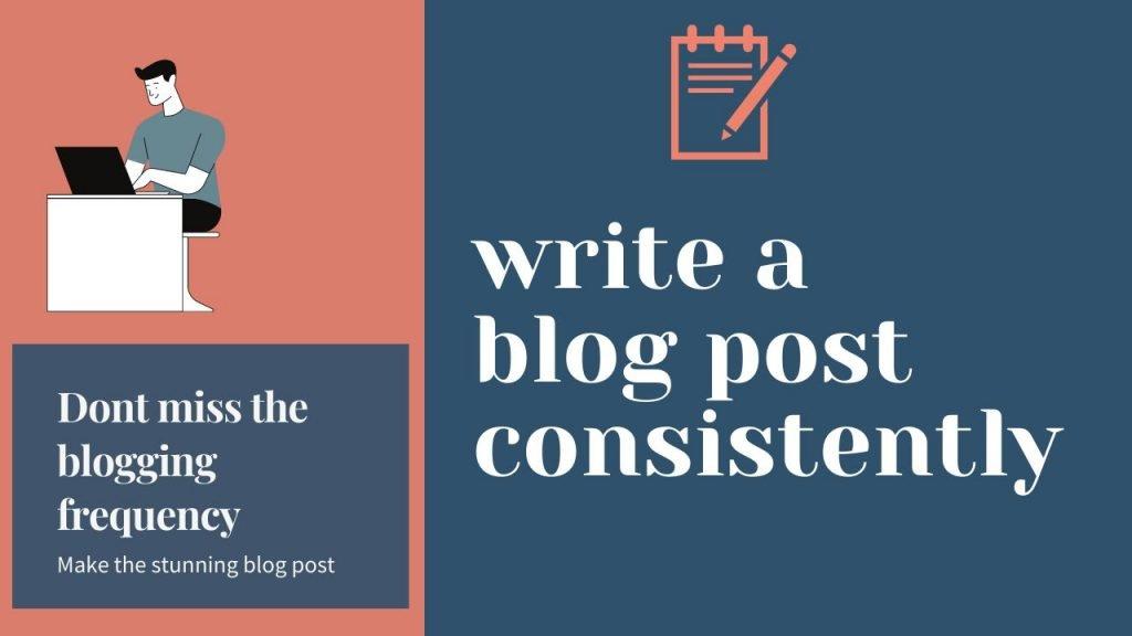 blogging mistake