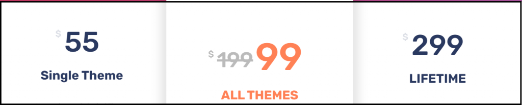 Accesspress themes Pricing