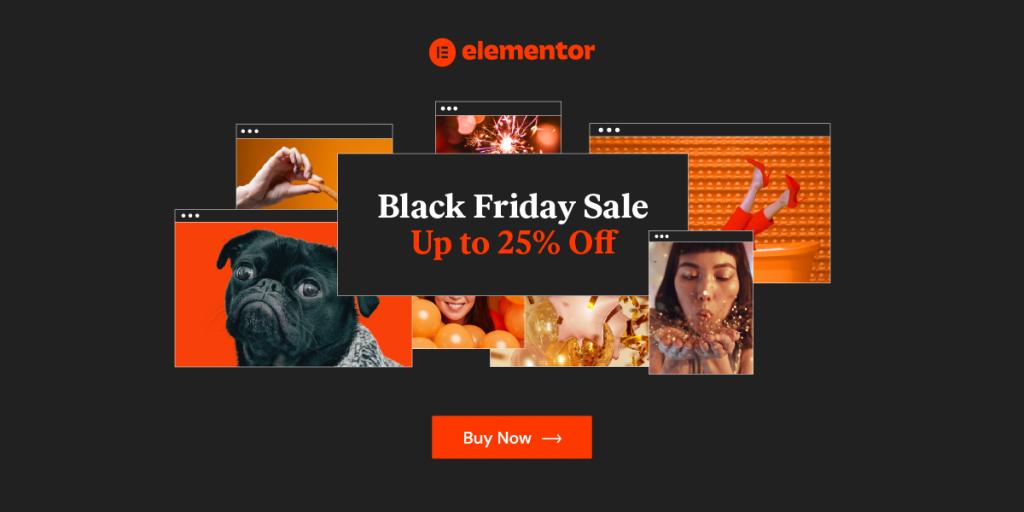 Elementor Black Friday Deals