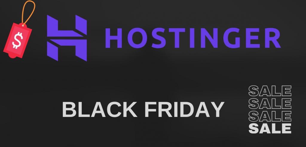 Hostinger Black Friday deals
