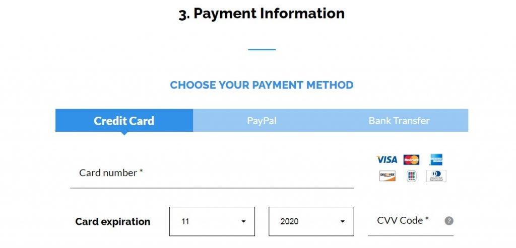 hosting Payment setup