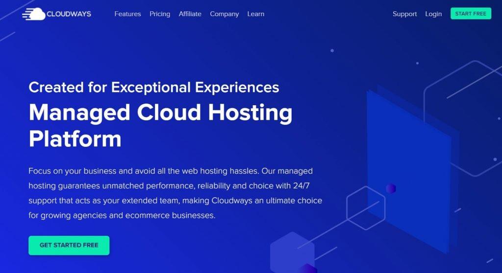 Best Cloud Web hosting - Cloud ways