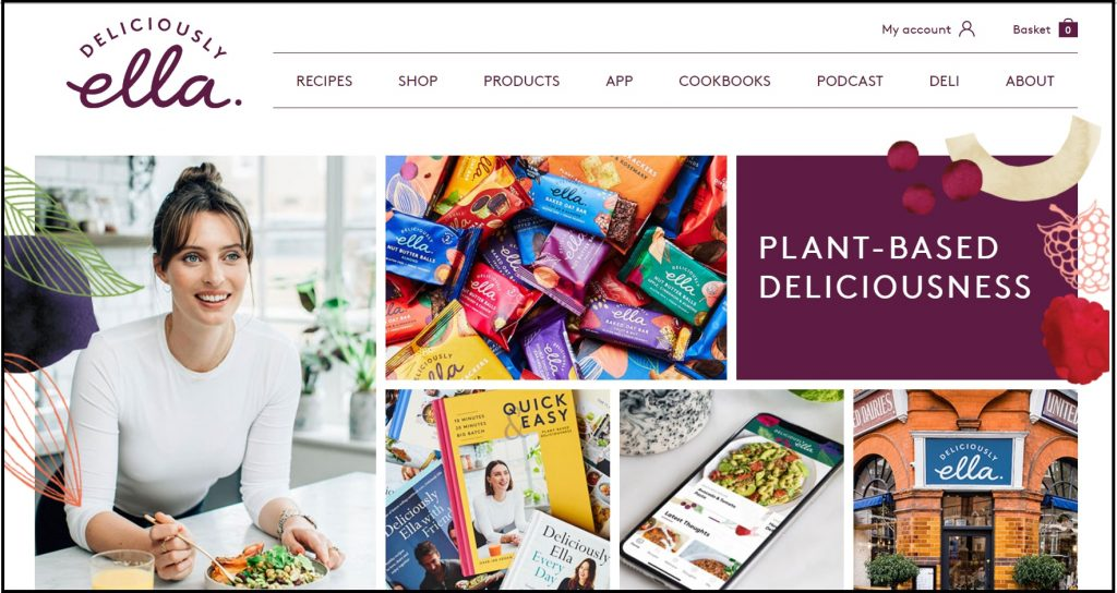 Best cooking Blogs and Bloggers - Deliciously Ella