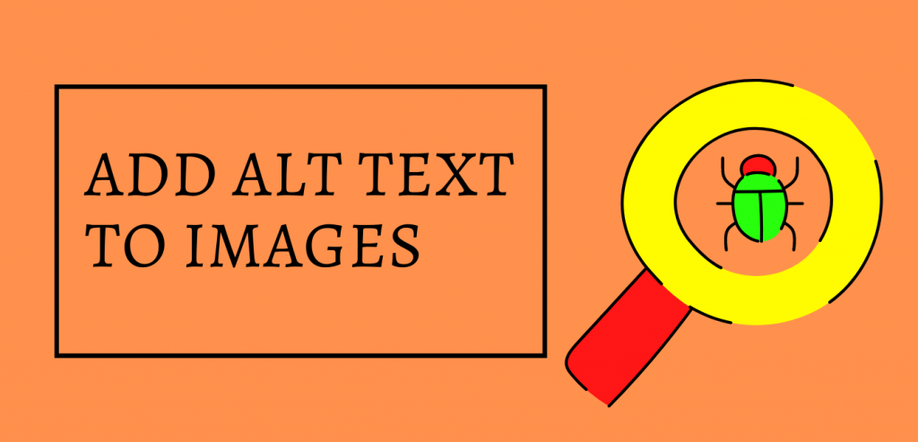 How to add Alt text to images