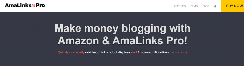 Amalinks Pro - Amazon affiliate WordPress plugin
