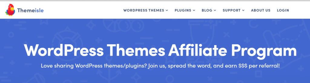 Themeisle affiliate programs