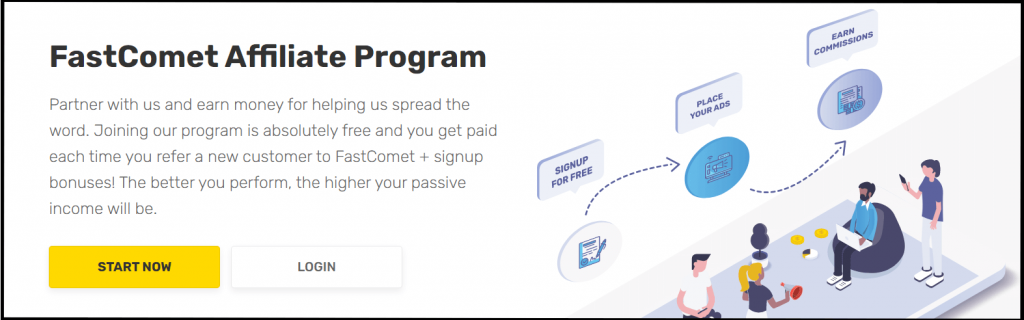 Fastcomet affiliate program for high earning