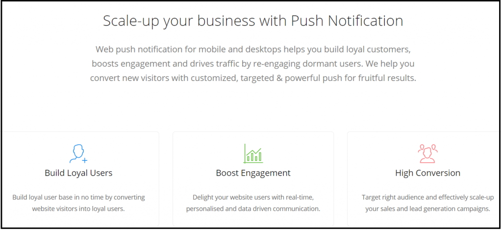 Push Notifications to scale your business