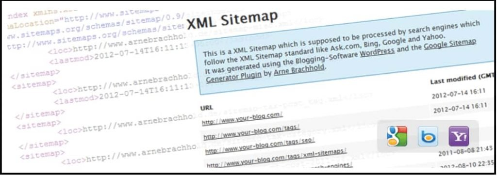Google XML sitemap Plugin for WordPress