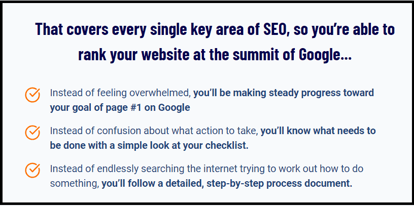 Key importance of SEO checklist