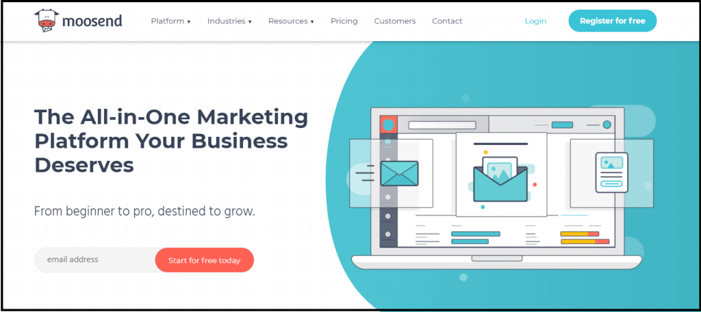 Moosend - Free email marketing tool for WordPress
