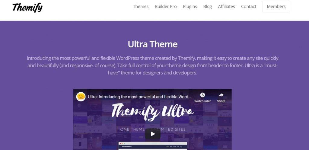 Ultra theme