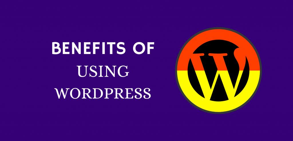 Benefits of using WordPress for websites