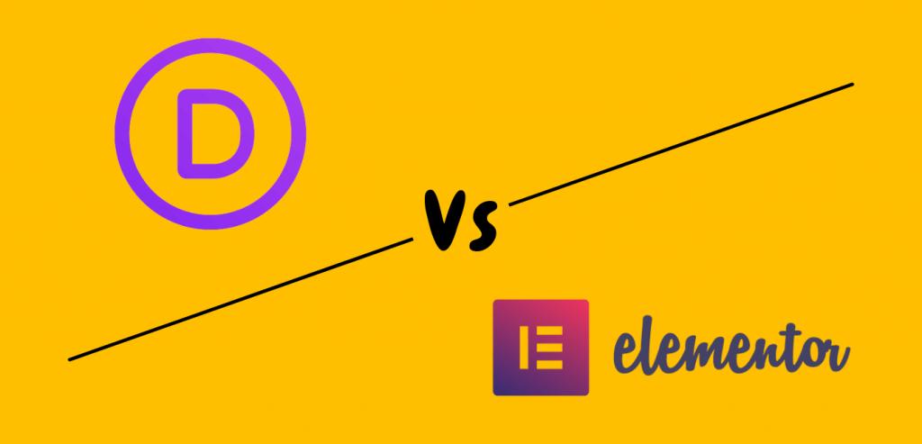 Divi Vs Elementor page Builder for WordPress