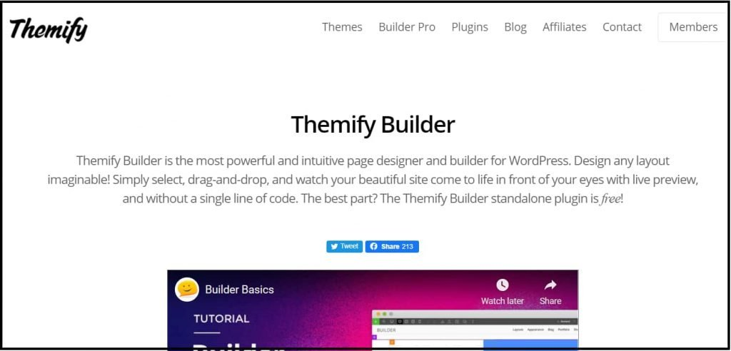 Themify builder powerful themify builder